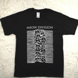 Tee Shirt Cat Australia - Hillbilly Funny Meow Division Letters Cat Oversize T Shirt Summer Top Harajuku Short Sleeved Tshirt Women Vogue Tee C19042301