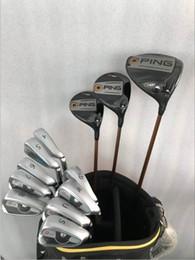 1ee9da21f31a7 Ensemble complet complet G 400 Golf Driver Driver Fariway Woods Fers à  repasser R / S Flex disponible