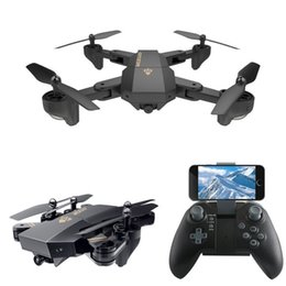 Professional Toy Helicopter NZ - XS809W Mini Drone Professional RC Helicopter Quadrocopter with Camera Professional Wifi FPV Aircraft Luminous Funny RC Toy