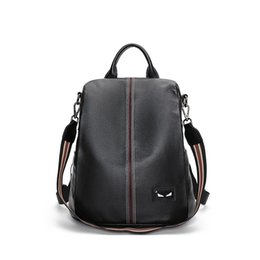 $enCountryForm.capitalKeyWord UK - Art2019 Both Genuine Shoulders Package Woman Joker Leisure Time Head Layer Cowhide Ma'am Backpack Soft Leather Guard Against Theft Bag