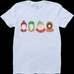 $enCountryForm.capitalKeyWord Australia - South Park Characters As Real People White, Custom Made T-Shirt