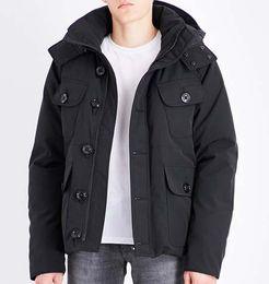 $enCountryForm.capitalKeyWord Australia - Fashion Winter Down Parka Hooded SELKIRKe Men Brand Designer Jacket Classic Man Outdoor Windproof Warm Coat Green for Sale
