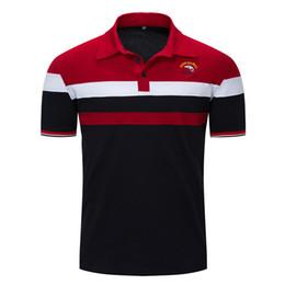 $enCountryForm.capitalKeyWord NZ - Fashion Designer Polo Shirts For Men T-Shirt Spring Summer Short Sleeve Shirts Mens Basic Casual Tops Tees Clothing 2 Colors M-3XL Size
