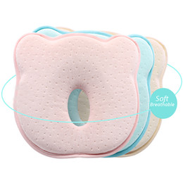 $enCountryForm.capitalKeyWord NZ - Baby Head Shaping Pillow for Newborn Anti Roll Baby Soft Memory Foam Infant Pillow to Prevent Flat Head 0-12M Syndrome