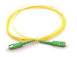 Optical Fiber Patch Cable UK - 3M FTTH SC APC Fiber Optical Patch cord Fiber Jumper SM Simplex 9 125 G652D PVC