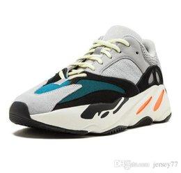 Mens Womens authentische Kanye West Real Boost 700 V2 statische EF2829 Designer Schuhe Mode Luxus-Stil Heißer Verkauf neue athletische Original Turnschuhe im Angebot
