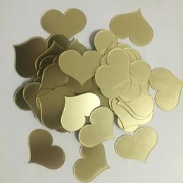 Mirror Arts Australia - 50pcs lot 4*5cm 3D Acrylic Mirror Surface Gold Heart-shaped Wall Sticker Bedroom Wedding Decoration Wall Decals Love Art Poster