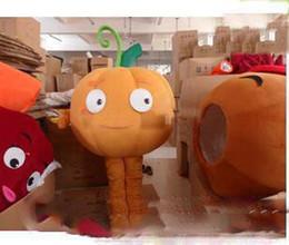 Adult Size Pumpkin Costume Australia - 2018 Hot sale new plush pumpkin carnival costumes mascot costumes adult size free shipping