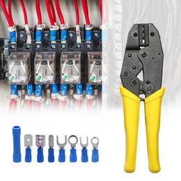 Crimping Kit Australia - 401pcs Multitool Electrical Wire Terminal Crimping Plier Kit 1pcs Cold Compression Plier + 400pcs Connectors Terminals Tool Set
