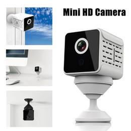Full hd mobile phones online shopping - A12 WiFi IP Camera FHD P IR Night Vision Home Security Mini Camera Phone App Video Mobile Detection Automatic Alarm