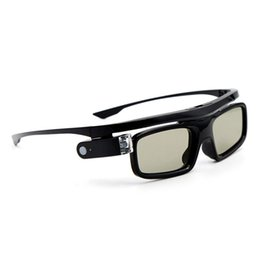 $enCountryForm.capitalKeyWord Australia - Accessories Universal LCD Lenses USB Rechargeable 3D Glasses Visual Active Shutter Home Use With Battery For DLP Link Projector