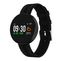 alarm clock bracelet NZ - Smart Bracelet Fitness Tracker Step Counter Wristband Sleep Monitor Alarm Clock Sports IP67 Smart Band For Android iOS