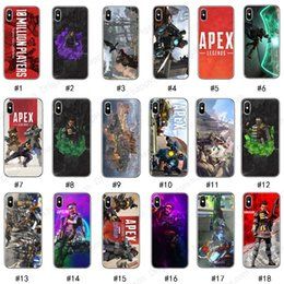 Cellphone Cases Designs Australia - APEX Legends Soft TPU Cellphone Case for iPhone XS Max XR XS 8 7 Plus Samsung Protective Shell Cover 55 Designs