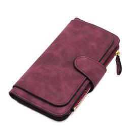 Army Wallets Australia - Brand Leather Women Wallets High Quality Designer Zipper Long Wallet Women Card Holder Ladies Purse Money Bag Carteira Feminina
