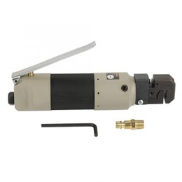 Pneumatic connectors online shopping - Pneumatic Sheet Metal Puncher Air Hole Punch Flange Punching Tool with US Connector Power Tool