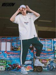 $enCountryForm.capitalKeyWord Australia - wholesale Summer Fashion Men's T Shirt Casual Short Sleeve T Shirt Mens Clothing Trend Zip Hip-Hop Top Tees Letter Print T