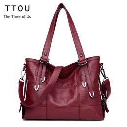 $enCountryForm.capitalKeyWord Australia - ladies TTOU Luxury Handbags Women s Designer Plaid Women's Leather Handbags Big Casual Tote Bag Ladies Shoulder Bag Double Arrow