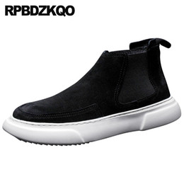 $enCountryForm.capitalKeyWord Australia - black nubuck leather shoes men sneakers comfort Italy european high top casual slip on winter famous trainers genuine suede 2018