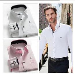 Good Cheap Shirts Australia - POLO 2018 fall-winter new cheap men's shirts long sleeve cotton quality is very good, American T-shirt size s-3x, L free shipping