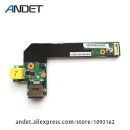 Sub board online shopping - New Original for Lenovo Thinkpad E520 E425 E420 Small Power Ethernet Port Jack USB Board DC in Sub Card W1867