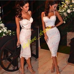 $enCountryForm.capitalKeyWord Australia - 2019 two piece short plus size arabic african black girl mermaid prom dresses vestidos de fiesta white cocktail formal dress evening gowns
