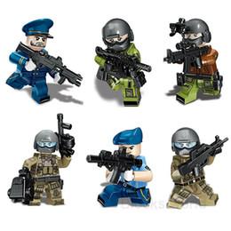 $enCountryForm.capitalKeyWord Australia - 6pcs set Military Modern Air Force Building Blocks Bricks Figures Model Toys Children DIY Gift Toys