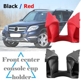Class boards online shopping - Black and Red Car Center Console Cup Holder Insert Divider Board for C Class W204 E Class W207 W212 GLK X204