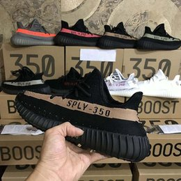46 football shoes online shopping - With Box New Shoes Static Reflective Kanye West Mens Womens V2 Running shoes Trainers Sneakers eur