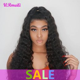 dhgate virgin brazilian hair NZ - Deep Wave Human Hair Bundles With Closure Remy Human Hair 3 4 Bundles With Lace Closure Dhgate Brazilian Virgin Hair Weave Bundles