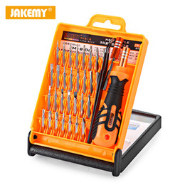watch precision screwdriver kit Canada - 33 in 1 Precision Screwdriver Set For Tablets Computer Laptop PC Watch Mini Electronic Repair Kit