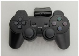ps2 game consoles UK - PS2 game console controller 2.4G wireless remote control trolley wireless remote control wireless controller Nostalgic handle