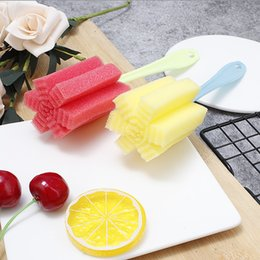 $enCountryForm.capitalKeyWord Australia - Hot sale Kitchen Cleaning Tool Sponge Brush for Wineglass Bottle Coffe Tea Glass Cup free shipping
