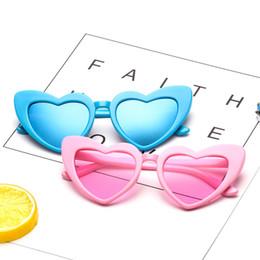20933648be Moda infantil En forma de corazón Gafas de sol anti-UV Marco lindo Gafas  Boy Girls Beach Gafas de sol Niños Mar Lentes Gafas RRA556