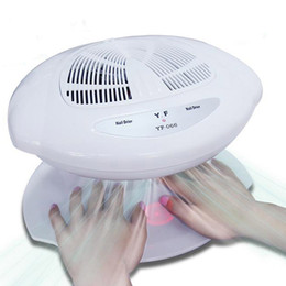 $enCountryForm.capitalKeyWord Australia - Smart Nail Polish Dryer Nail Air Dryer Fan Auto Induction Warm & Cool Wind Auto Sensors Art Manicure Tool