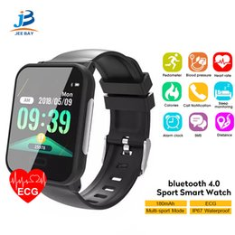 Gps bracelets tracker for kids online shopping - E33 Smart Wristbands ECG Mapping Smart Watch Blood Pressure Smartwatch Heart Rate Monitor Fitness Tracker Sports Smart Bracelet Stopwatch