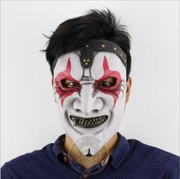 $enCountryForm.capitalKeyWord UK - New Halloween Party Masquerade Slipnot Mask New Horror Skull Face Silicone Horror Ghost Mask Party Cosplay Clown Masks Toys