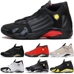 $enCountryForm.capitalKeyWord Australia - Men 14 14s Basketball Shoes Desert Sand Dmp The Last Shot Thunder Black Toe Candy Cane Red Suede Top Designer Trainer Sports Sneakers