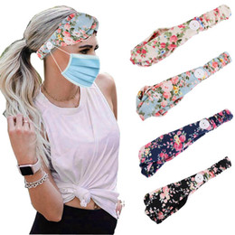twist scarves UK - Handmade Women Twist Headbands Hair Accessories Acrylic Bandana Scarf Square Female hair band Rock Cool Girls Turban