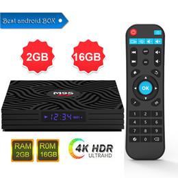Mini Pc Google Tv Australia - M9S W6 4K Android 7.1 TV Box Amlogic S905W Quad Core 64bit Smart Mini PC 2GB 16GB Support Wifi 4K H.265 Streaming Google Media Player