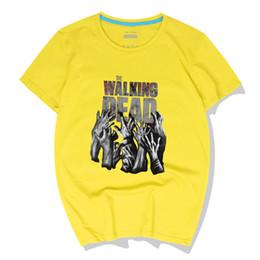 $enCountryForm.capitalKeyWord UK - Cotton Summer Cool Men T-Shirts The Walking Dead Casual Short Sleeve Hip-Hop Top Tees Crewneck Polos High Quality Streetwear