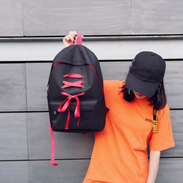 $enCountryForm.capitalKeyWord Australia - Angel2019 Rope Clothes Shoelace Personality Woman Both Shoulders Package Student Leisure Time Travelling Bag