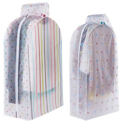 Suit Dust Protectors Australia - Storage Bag Case for Clothes Organizador Garment Suit Coat Dust Cover Protector Wardrobe Storage Bag for Clothes Organizador