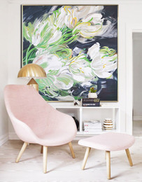 Decoration flower oil painting online shopping - Abstract Flower Oil Painting Modern Wall Decoration