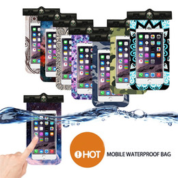 Cellphone Keys Australia - Key phone waterproof bag Underwater Pouch Dry Cover For Phone Cellphone Compass Swimming pool accessories #2f19 #562957