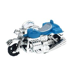 Toy Pull Cars UK - 1PC New Plastic Mini Motorcycle Model Toy Car Pull Back Motor Model Toy Kids Gift