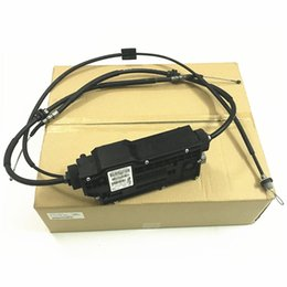Wholesale electronic park resale online - Electronic hand brake motor X5 X6b mw2008 Hand brake computer module Electronic parking Parking unit
