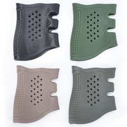$enCountryForm.capitalKeyWord Australia - Tactical Pistol Rubber Protect Cover Grip Glove Sleeve Anti Slip for Most GK 17 19 20-41 Handguns Airsoft Hunting Accessories