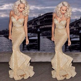 Wholesale champagne gold maxi dress resale online – New Arrival Women Dresses Sexy High Quality Lace Gold Glitter Slim Dress Plus Size Women Clothing Night Club Party Dressesing ID3470