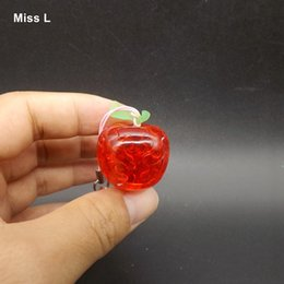 $enCountryForm.capitalKeyWord NZ - Plastic 3D Crystal Puzzle Apple DIY Creative Gift For Kids Birthday Gift