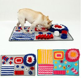 $enCountryForm.capitalKeyWord Australia - Pet Dog Sniffing Mat Find Food Training Blanket Play Toys Dog Mat For Relieve Stress Puzzle Sniffing Mat Pad